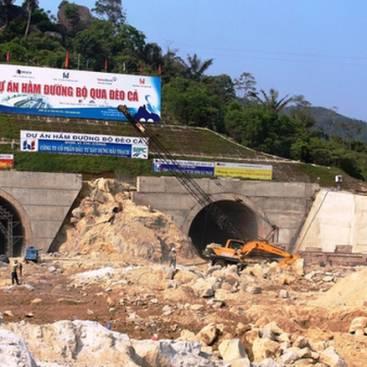 Dự án hầm đường bộ đèo cả