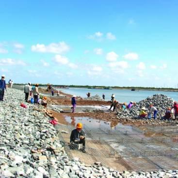 Dự án thi công kè Sông Hậu