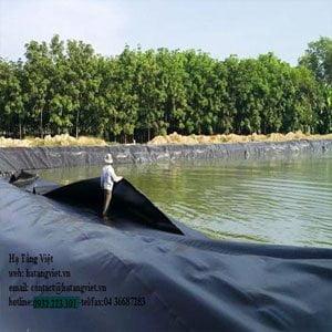 Hướng dẫn thi công mang HDPE hồ sinh học