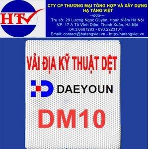 Vải địa kỹ thuật dệt DML10