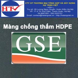 Màng chống thấm GSE HDPE 0.5mm