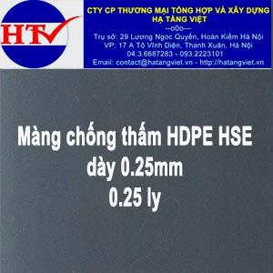 Màng chống thấm HDPE HSE 0.2 ly