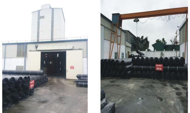 Nhà máy sản xuất màng chống thấm HDPE HSE