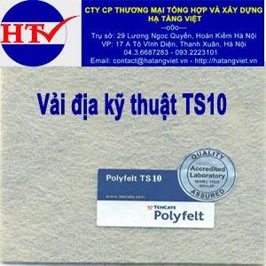 Vải địa kỹ thuật TS10