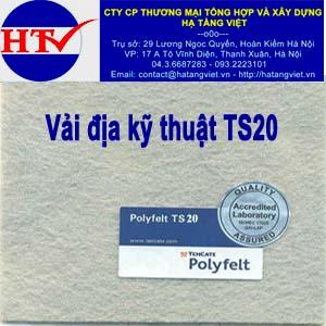 Vải địa kỹ thuật TS20