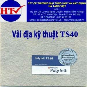 Vải địa kỹ thuật TS40